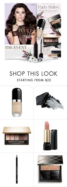 """""""Holiday Beauty"""" by thewondersoffashion ❤ liked on Polyvore featuring beauty, Marc Jacobs, Gorgeous Cosmetics, Clarins, Lancôme, Vincent Longo, Burberry and Serge Lutens"""