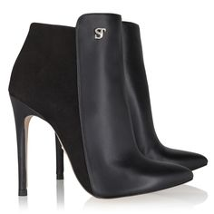 """I just love my SUPERTRASH booties """"Carnaby Duo"""" Black"""