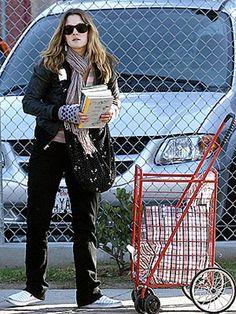 Drew Barrymore & books
