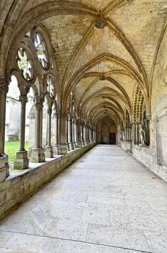 Claustro Catedral de Noyon
