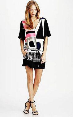 d72952b084a3a Diane Von Furstenberg Koemi Hopscotch Dress