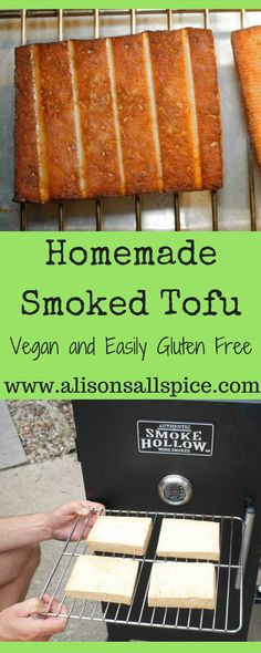 This simple homemade recipe will out preform any store-bought smoked tofu.  There are soooo many ways to enjoy it!