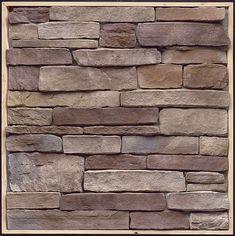 Ledgestone Bucktown Flats 9 Sq Feet Stone Cottages, Stone Houses, Stone Veneer Siding, Panneau Mural 3d, Kitchen Renovation Design, Hearth Stone, Fireplace Pictures, Fake Stone, Tuile