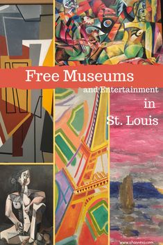 Free museums located in Forest Park in St. Louis are great family activities. Infant Activities, Family Activities, Big Tractors, Free Museums, City Museum, Forest Park, Egyptian Art, Travel With Kids, Family Travel
