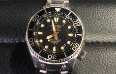 Seiko Perspex Marinemaster 1000m Hi-Beat SBEX001G Titanium Limited Edition Hands-on