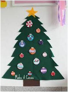 21 DIY Papercut Christmas tree ideas for kids : www.parentinghealthybabies.com