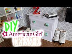DIY American Girl Doll Dresser