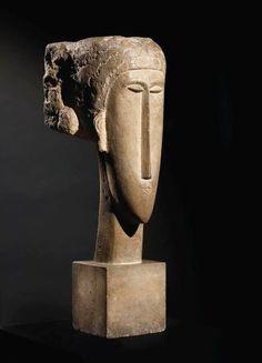 testa di donna, Modigliani