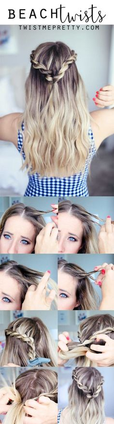 23 Tutorials For Super Easy Hairdos Done In Minutes