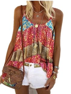 [picked up from Walmart] Free 2-day shipping. Buy Boho Kaftan Sleeveless Tank Tops Blouse T Shirt for Women Plus Size Camisole Vest Tee Sport Yoga Vest T-shirt Ladies Beach Holiday Strappy Tee at Walmart.com $14 Buy It Now !