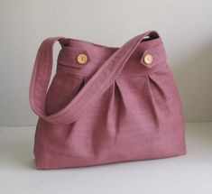 Sale  Mulberry Hemp/Cotton Bag  Messenger / Diaper por tippythai, $34.00