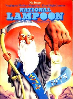 National Lampoon Magazine  # 58 - January 1975 pdf Back Issues Collection  Archives Download DVD Ebay