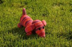 crochet Amigurumi Dog gehäkelter Amigurumi Hund