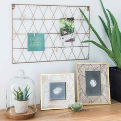 CALIENTE photo frame with foliage print 25 x 20 cm | Maisons du Monde | Havana Nights