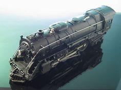 Lionel 736 Steam Locomotive 2 8 4 Berkshire Engine O Scale Postwar 1953