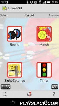 ArtemisLite  Android App - playslack.com ,  ArtemisLite is een essentieel onderdeel in de handboogsport. Voor de serieuze wedstrijdschutter, topschutter en de trainer/coach. ArtemisLite wordt actief gebruikt door de Nederlandse Junioren en Senioren Selectie en in de RTC's. Ook leden van de Italiaanse junioren en senioren en leden van de Belgische Handboogliga gebruiken Artemis. Ontwikkeld en in samenwerking met en gebruikt door top-schutters/coaches zoals Sjef van den Berg, Peter Elzinga…