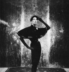 Barbara Goalen photographed by John Deakin, 1950s.
