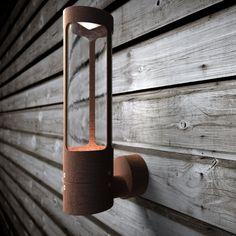 Nordlux-Seinävalaisin LED Helix, 80x14x325mm, corten-teräs