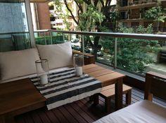 Terraza deck madera