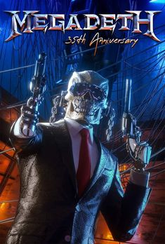 Metal Bands, Rock Bands, Hard Rock, Megadeth Albums, Vic Rattlehead, Heavy Metal Art, Magazine Mode, Extreme Metal, Cover Band