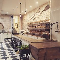 Stunning French style patisserie, with a real modern twist. #hospitalitydesign…