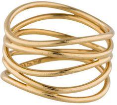Tiffany & Co. 18K Wave Ring