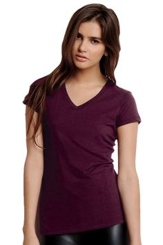True to Size Apparel - Ladies Short-Sleeve V-Neck Jersey T-Shirt, $11.76 (http://truetosizeapparel.com/ladies-short-sleeve-v-neck-jersey-t-shirt/)