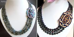Ожерелья Aurus Jadwiga Beaded Necklace, Jewelry, Fashion, Beaded Collar, Moda, Jewlery, Pearl Necklace, Jewerly, Fashion Styles