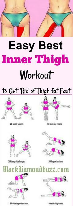 21 Minutes a Day Fat Burning Inner thigh slimming workouts Here are easy best inner thigh exercises to get rid of thigh fat and tone legs fast at home Using this Fitness Workouts, Fitness Motivation, Yoga Fitness, Sport Motivation, Fitness Plan, Exercise Motivation, Teen Fitness, Training Workouts, Weight Training