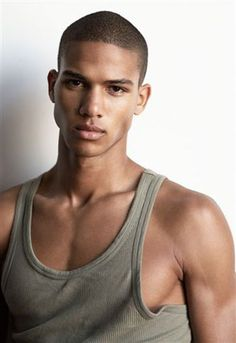 This male model has a strong jawline and masculine chin. www.weilandgroup.com