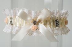 The antique rose garter. So vintage and shabby chic in its design.