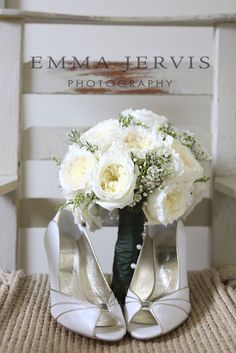 These flowers matched hr shoe's too!! www.emmajervis.com