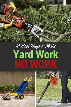 With the right tools, you can not only eliminate some of the dangers of yard work, but you can carve minutes, maybe even hours off of your monthly yard care routine. Check out the best outdoor products to try this season.