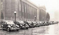 1935 Police Cars at War Memorial Auditorium Nashville, TN