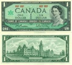 Currency of Canada 10 dollars banknote of 1954, Queen