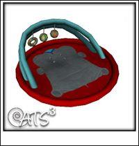 Tapis de jeu bébé sims 4