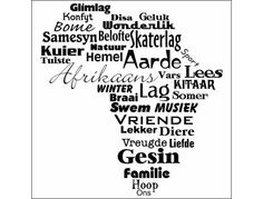Afrikaans - one of the youngest - if not the youngest language of Africa. Wall Quotes, Me Quotes, Qoutes, Africa Quotes, Afrikaanse Quotes, Word Pictures, My Land, We Are The World, Word Art