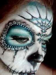 Makeup for El Dia de los Muertos
