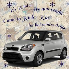 Itu0027s Officially The First Day Of Winter! Happy Holidays From Kiefer KIA