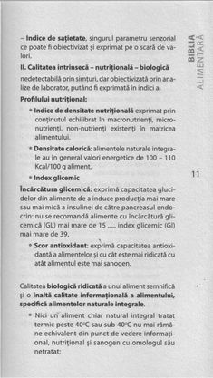 G.Mencinicopschi Biblia Alimentară Bible, Biology
