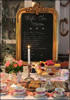 Welcome to Boxwood Cottage ~ High Tea Party