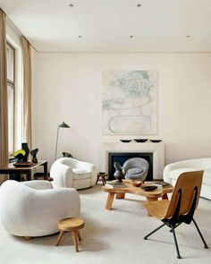 Jean Royere Polar Bear, Serge Mouille lamp, Jean Prouve Anthony chair, Paul…