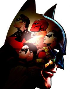 batman MY EDIT robin dick grayson bruce wayne jason todd Nightwing Damian Wayne tim drake Red Hood Red Robin Batfam bethy plays in photoshop