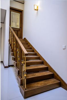 Stair Railing, Stairs, Home Decor, Stair Banister, Stairway, Decoration Home, Hand Railing, Room Decor, Staircase Railings