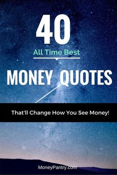 These are some of the best quotes related to money and wealth.