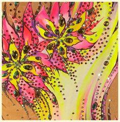 Flower inspiration-leotard for rhythmic by alwaysagoodprice