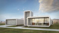World's first 3D-printed office building to go up layer by layer in Dubai
