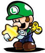 Mini Luigi - Mario Vs. Donkey Kong: Tipping Stars