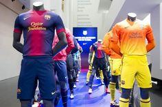 FcBarcelona Nike Offical Kit 2012/13