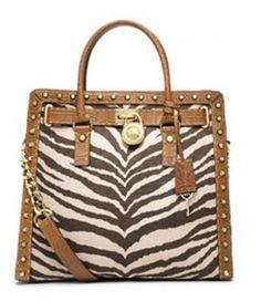 Borse Michael Kors Primavera Estate 2014 - Handbag Zebrata - #bags #bag